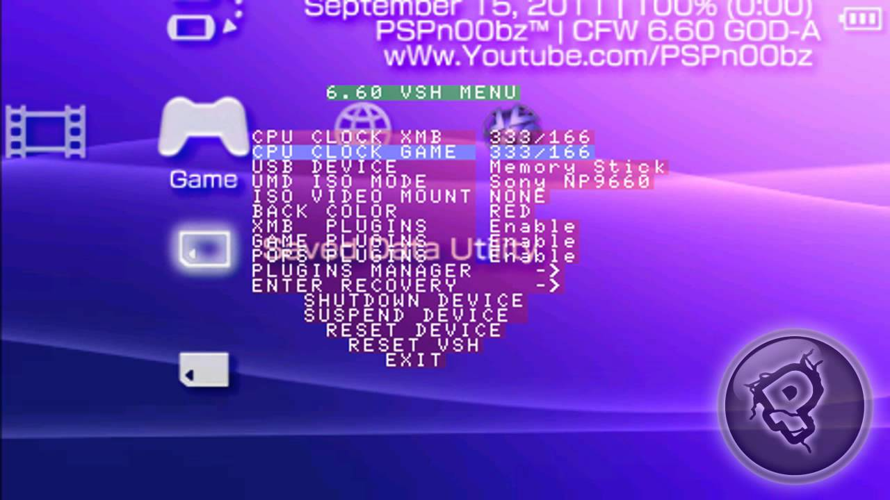 custom firmware for psp 6.60 free download