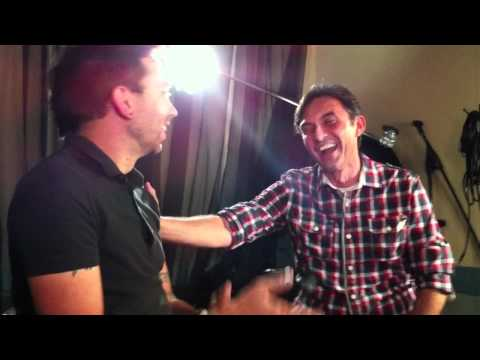 Tim McIlrath (Rise Against) Gives Chris Payne (Q101's Local 101) Singing Lessons