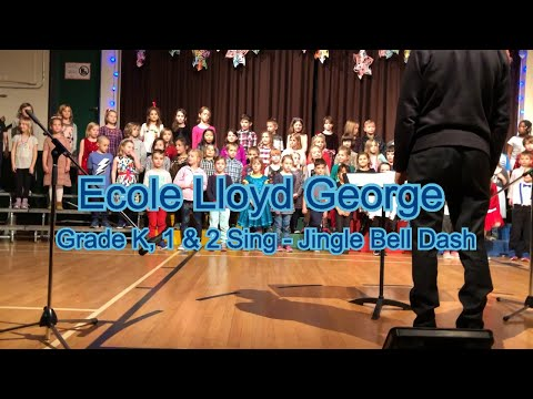 Ecole Lloyd George Elementary - Jingle Bell Dash