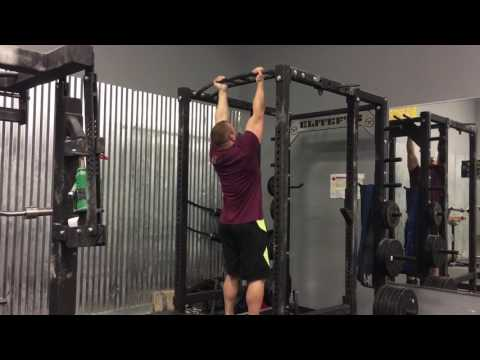 15 Dead-Hang Pullups at 255 bodyweight
