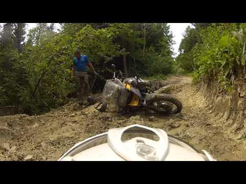 TKA'12 - BMW R 1200 GS adventure against Mud in Romania