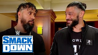 Roman Reigns and Jimmy Uso put Jey Uso in the middle of their disagreement: SmackDown, June 11, 20..