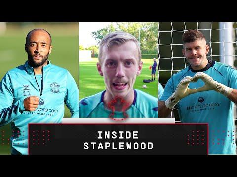 INSIDE STAPLEWOOD   Southampton prepare for Leeds test