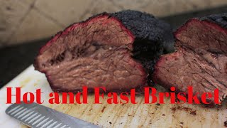 Hot and Fast Brisket BBQ
