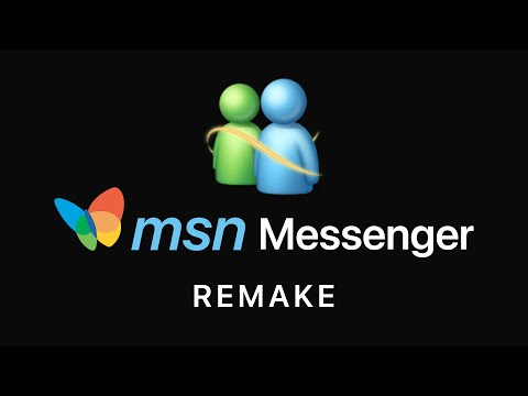 MSN Messenger 2019 Edition (Concept By Avdan)