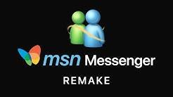 MSN Messenger 2019 Edition (Concept)
