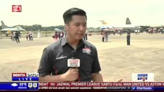 Alutsista dan Aeroshow Meriahkan Pameran Dirgantara Indonesia