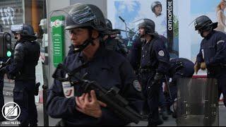 Manif sauvage - attaque de la CFDT et violence policière à Paris - 23/06/15