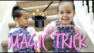 The Twin's Magic Trick! - April 12, 2017 -  ItsJudysLife Vlogs