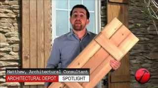 Wood Board-n-batten Shutters