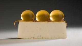Molecular Gastronomy - Coco-almond Fondant