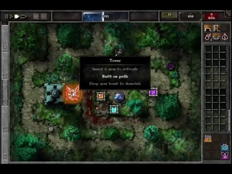 GemCraft Chasing Shadows Field I3 Game Solution Video |