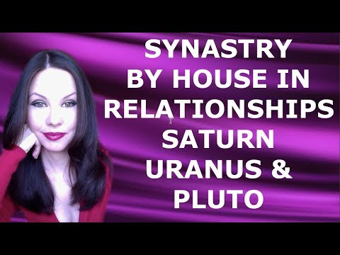 SYNASTRY BY HOUSE IN RELATIONSHIPS SATURN, URANUS & PLUTO