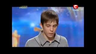 Украина мае талант 5 сезон - Олег Хмиз (рэп)