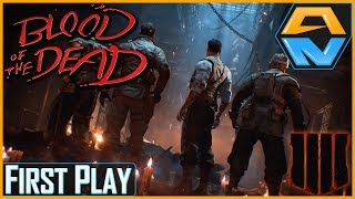 BLOOD OF THE DEAD | First Play | Call of Duty Black Ops 4 Zombies