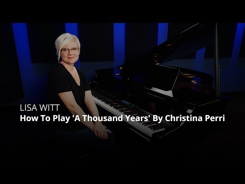 How To Play 'A Thousand Years' By Christina Perri (Piano Lesson)