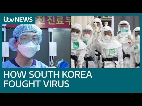 How South Korea Created The World's Most Ambitious Coronavirus Testing Programme | ITV News