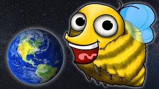 СУПЕР ПЧЕЛА ГЛАЗАСТИК съедает ПЛАНЕТУ Мультик ИГРА Tasty Planet Forever