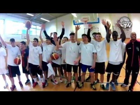 """RZ-Klasse: """"Telekom Baskets Bonn"""" besuchen Goethe-Schule in Koblenz-Lützel"""