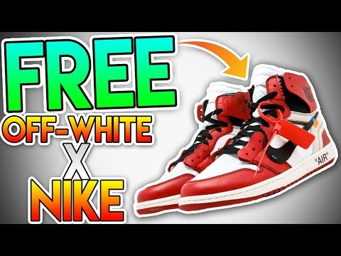 """*100% LEGIT* YOUR LAST CHANCE TO GET THE OFF-WHITE X NIKE """"THE TEN"""" COLLECTION FOR *FREE* ( MUST WAT"""