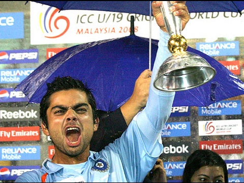 virat kohli captain under 19 world cup final match well betting 100*
