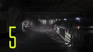 Alien: Isolation PC Gameplay Walkthrough Part 5 - Baby Back Bull----!