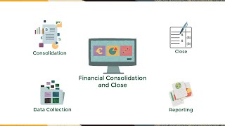 Overview: Tour of Financial Consolidation and Close in EPM Cloud video thumbnail
