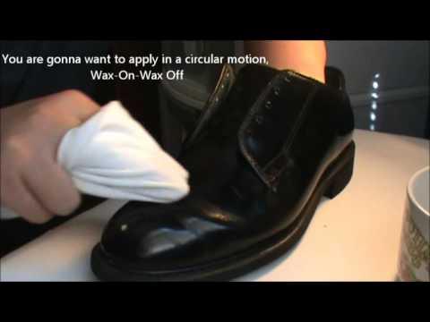 to Shine Parade Shoes w/ Parade Gloss