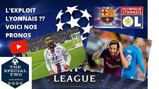 Paris Sportifs Les Pronos Barcelone Lyon Bayern Liverpool Ligue des champions