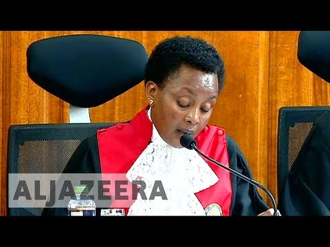 Kenya court criticises electoral body for nullified vote