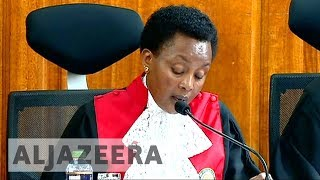 Kenya's Supreme Court explains its decision on electoral body