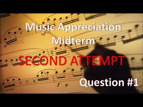 Midterm Question #1 Second Attempt