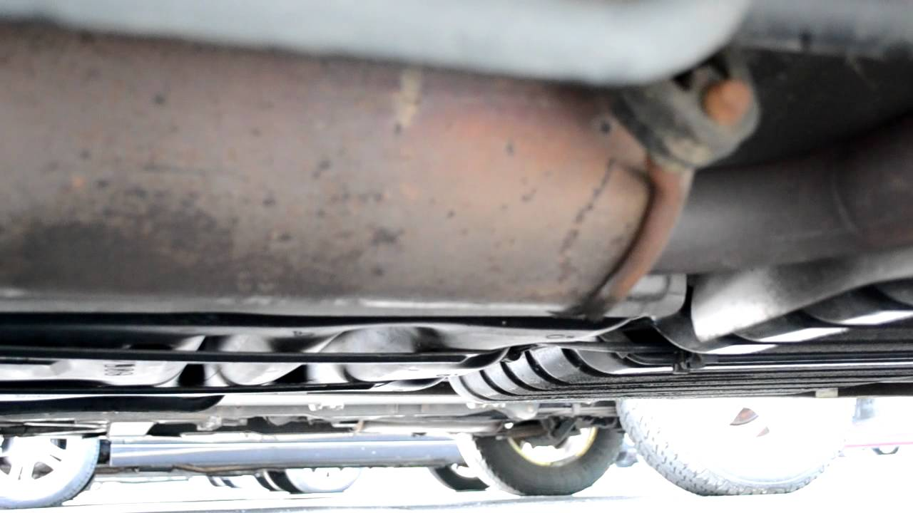 2010 Dodge Grand Caravan Exhaust Issue Youtube