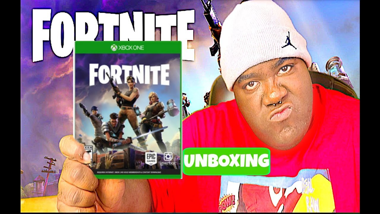 Fortnite Xbox One Unboxing Youtube