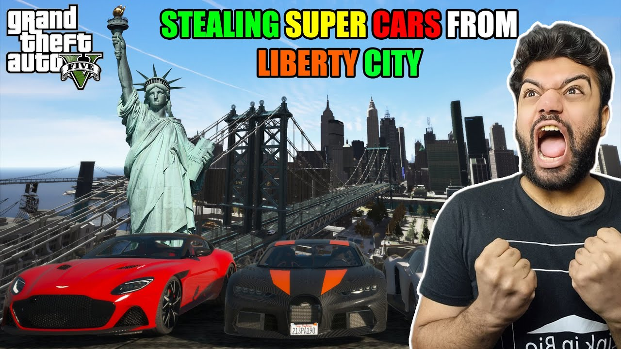 I Went To LIBERTY CITY To Steal The Fastest BUGATTI In The World | GTA 5 GAMEPLAY #32
