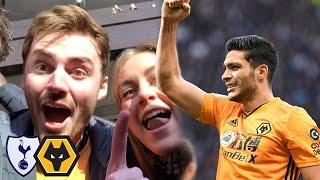 Raul Jimenez Wins It For Wolves! Wolves Vs Tottenham Hotspur 3-2 Matchday Vlog