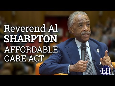 Reverend Al Sharpton: What did Obama do for the Black Community? (2017) | UCD L&H