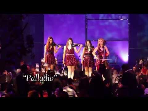 Palatine Electric String Quartet stage show
