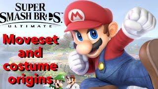 The Mario Bros Moveset & Costume Origins   Smash Origins