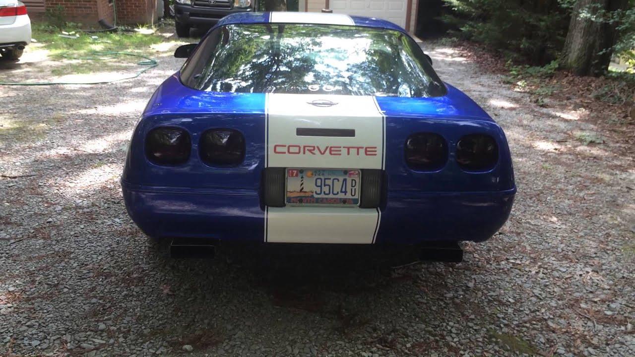 C4 LT1 Corvette with Comp Cam, American racing headers