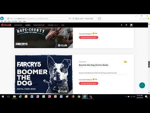 Far Cry 5 - All Ubisoft Club Rewards and Challenges