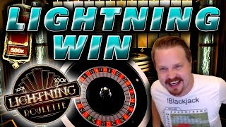 Lightning Roulette 500x BIG WIN COMEBACK!