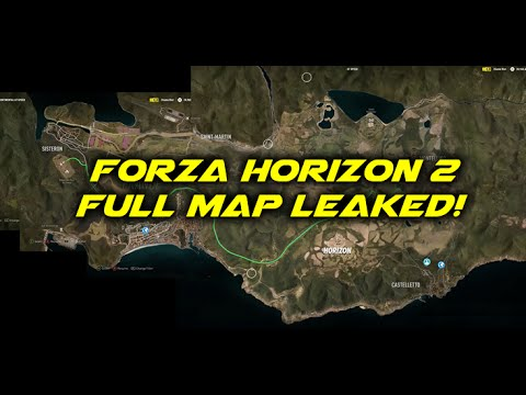 Forza Horizon 3 Map IGN Video Game News Reviews and - induced info