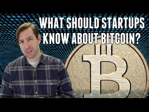 Startup Snacks --Bitcoin