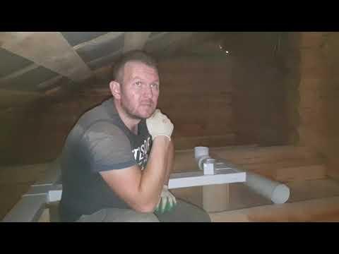 Устройство вентиляции в деревянном доме своими руками