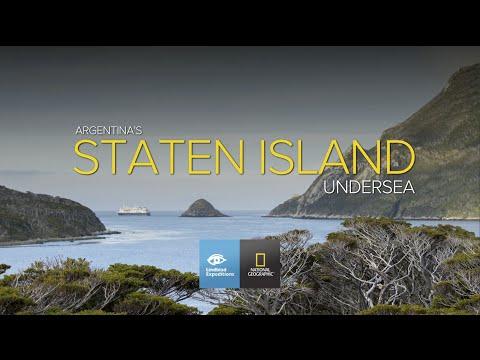 Undersea of Argentina's Staten Island