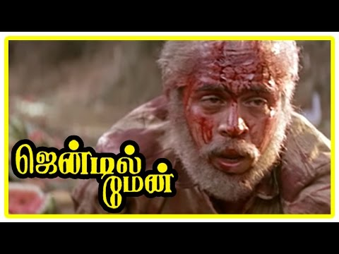Gentleman Tamil Movie | Scenes | Title Credits | Government transfer cash | Arjun in accident