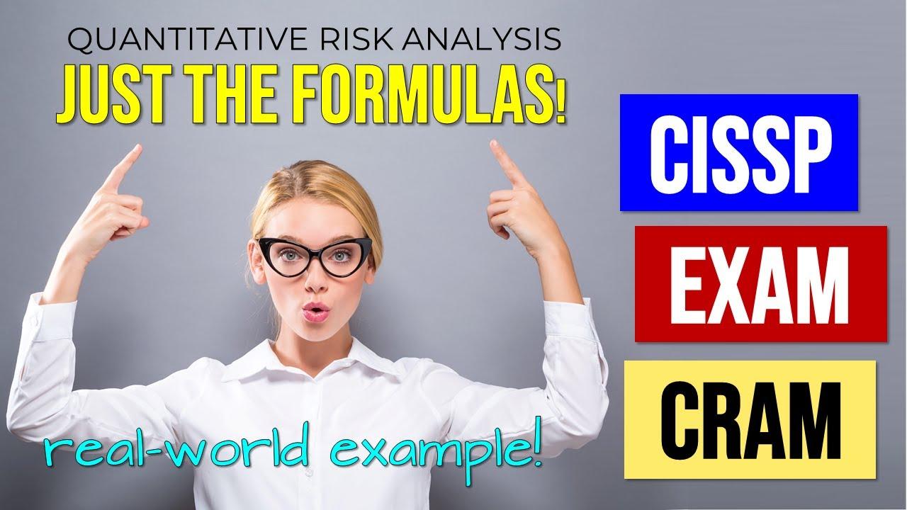 Master CISSP Risk Analysis Formulas (CISSP Exam Cram)