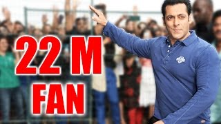 Salman Khan Crossed 22M Followers On Twitter  - King Of Social Media
