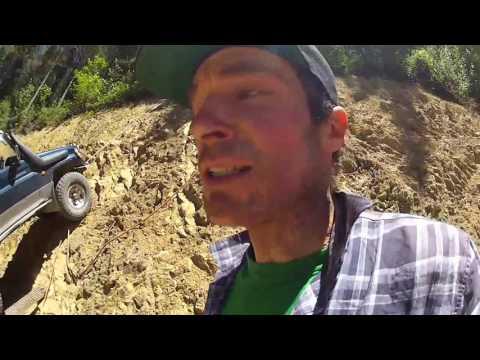 Cliff test - Runva Winch 11XP on my Toyota Land Cruiser Prado